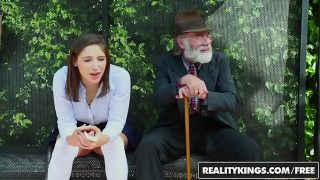 RealityKings – Teens Love Huge Cocks – (Abella Danger) – Bus Bench Creepin